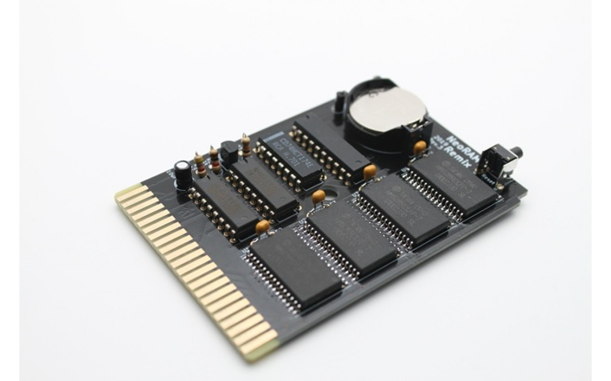 NEOram cartridge for the Commodore 64