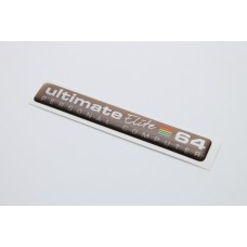 64c Ultimate 64 Elite Badge - Brown