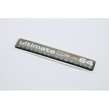 64c Ultimate 64 Elite Badge - Dark