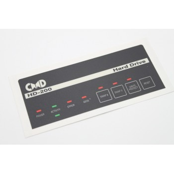 Commodore CMD HD-200 Reproduction Label - NEW