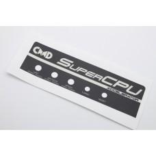 Commodore CMD SuperCPU Reproduction Label - NEW
