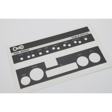 Commodore CMD Thunderdrive Replacement Label - NEW