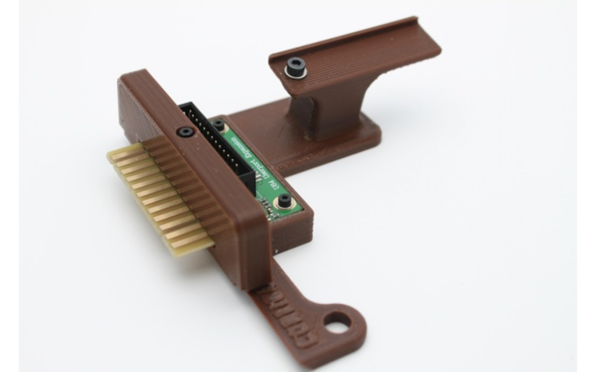Ultimate 64 Userport Mount into Left Keyboard Bracket