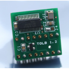 TOLB clock gen: (replaces MOS 7701/8701 for the C64, C128) - NTSC