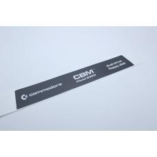 Commodore PET - 8250 Drive Label