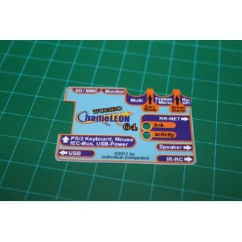 Turbo Chameleon 64 V1 Cartridge Case Sticker